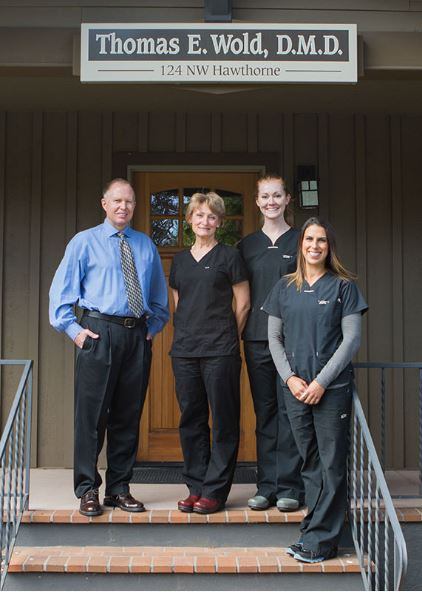 the dental team  from Aesthetic Dentistry of Bend